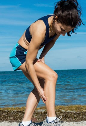 Initial treatment for Achilles tendon injury