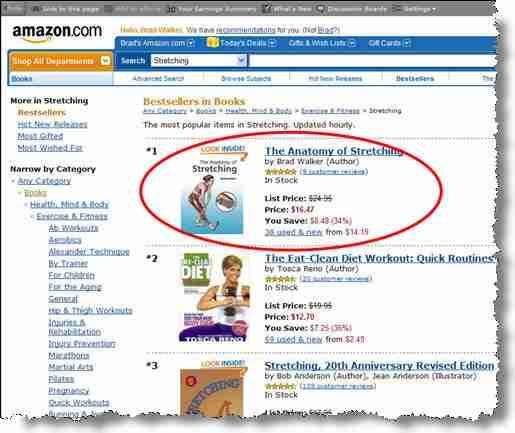 5 Amazon Best-Seller Lists
