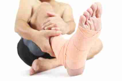 Foot injuries need medical attention--never try to walk them off!