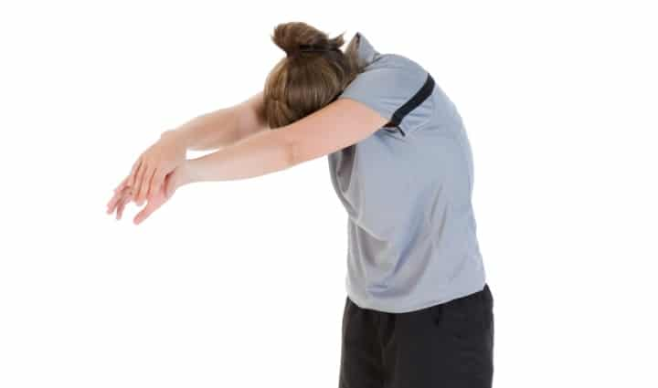 Key Stretch of Importance #08 – Reaching Upper Back Stretch