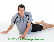Netball core and side stretch