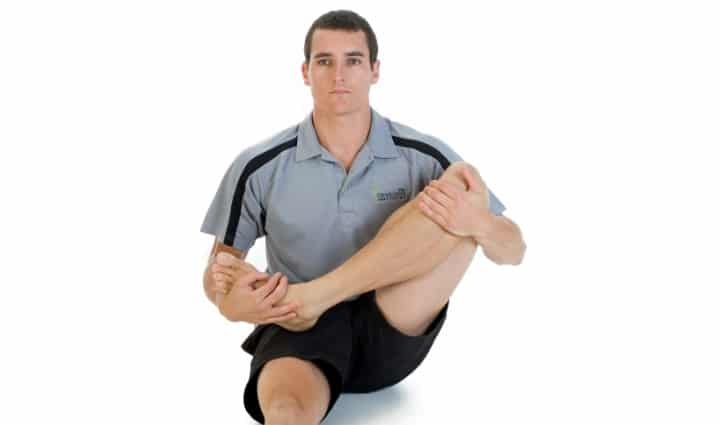 Piriformis syndrome buttocks stretch