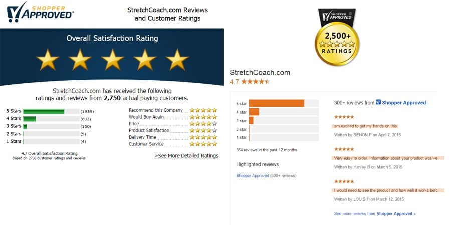 40,000 customers and over 2,500 5-star reviews