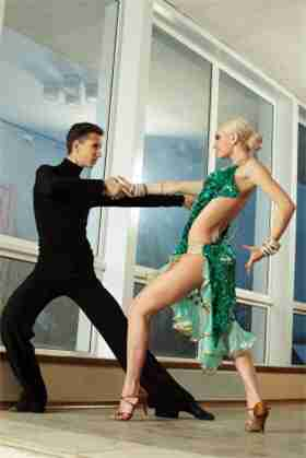 Stretches for ballet and ballroom dancing