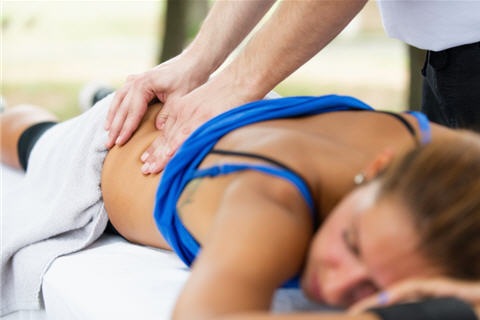 What are the main types of massage?