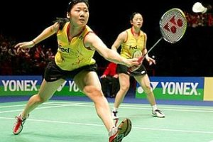 Badminton stretches