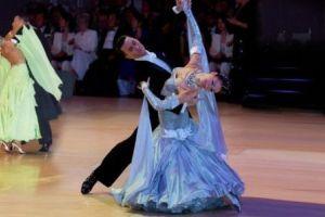 Ballroom dancing stretches