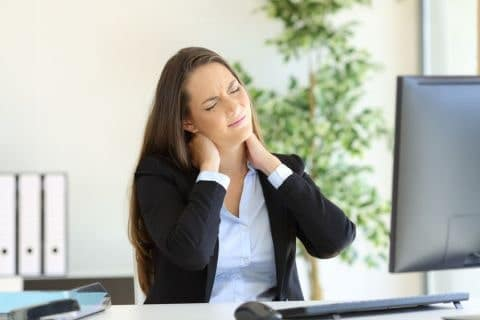 Pain Management and Improved Productivity for Office Workers