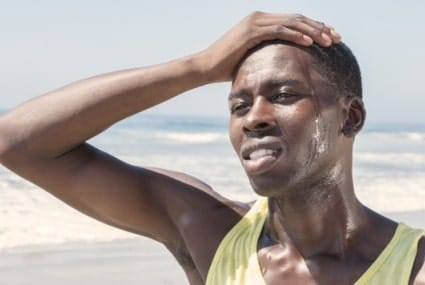 Dehydration and heat exhaustion