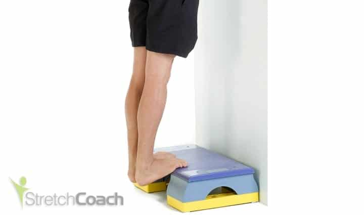Double Heel-drop Calf Stretch