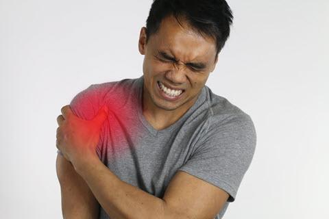 Frozen shoulder pain