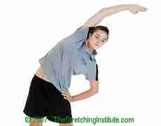 Golf lateral side stretch