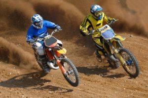 Motocross stretches