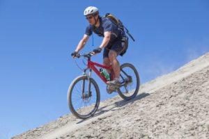 Mountain biking stretches