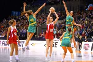 Netball stretches