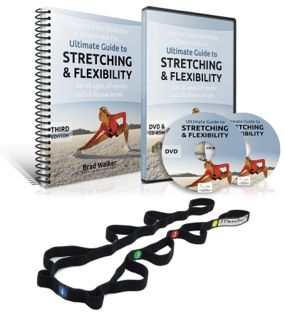 The Stretching Handbook, DVD & Stretch Strap
