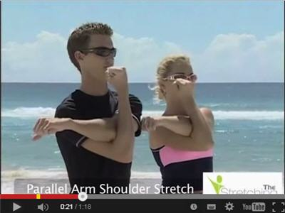Rotator cuff stretches and exercises