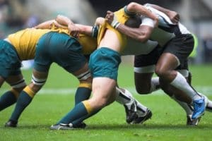 Rugby stretches