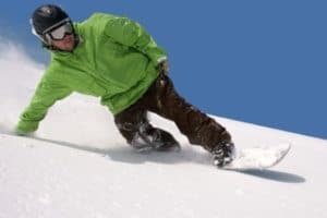 Snowboarding stretches