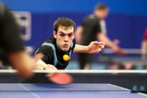 Table tennis stretches