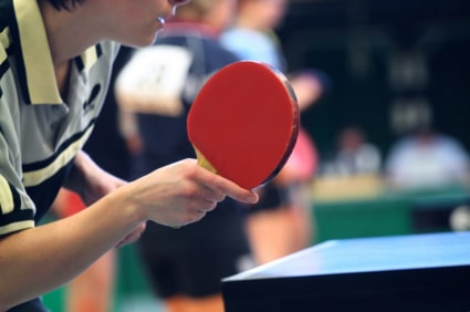 Stretches for table tennis