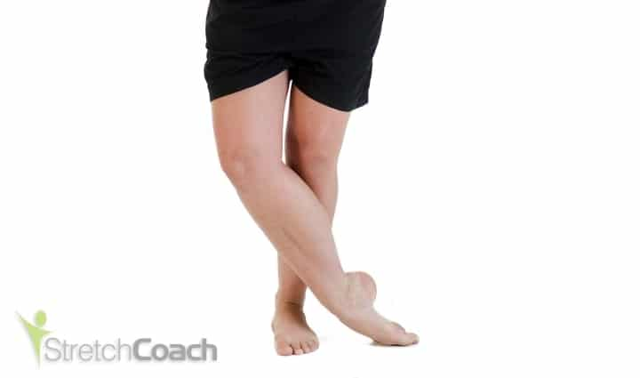 Standing Tibialis Anterior Stretch
