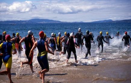 Stretches for triathlon