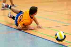 Volleyball stretches