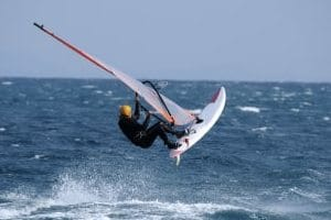 Windsurfing stretches
