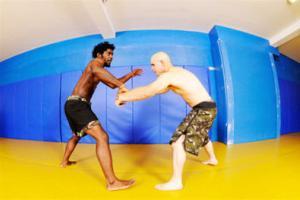 Wrestling stretches